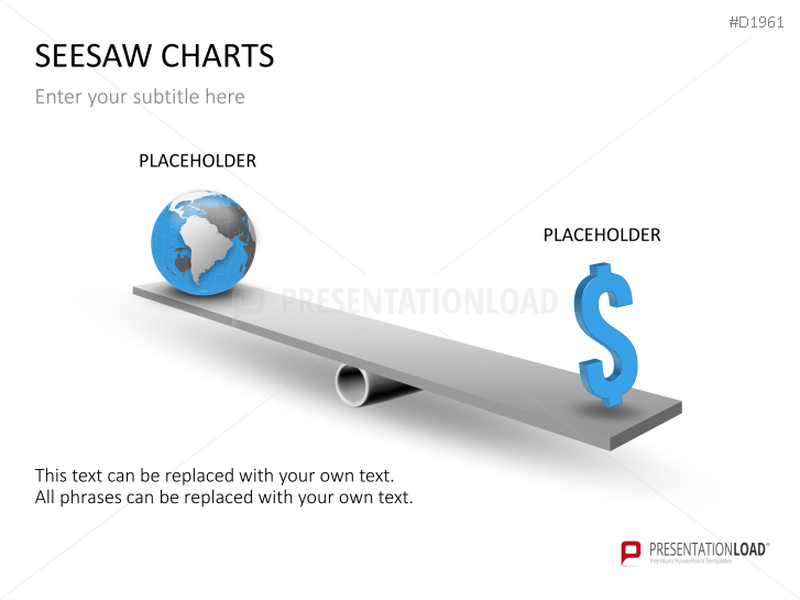 Seesaw Diagram Powerpoint Template