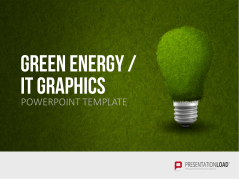 Green Energy - IT Set _https://www.presentationload.de/gruene-energie-it-set.html