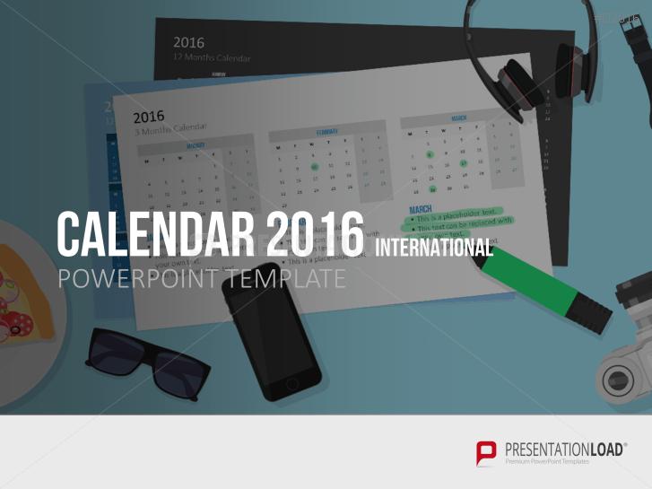 Calendar 2016 _http://www.presentationload.com/calendar-2016.html