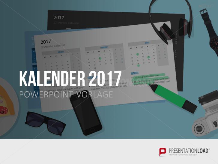 Kalender 2017 _http://www.presentationload.de/kalender-2017.html