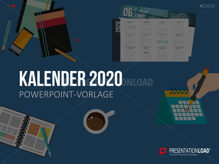Kalender 2020 _https://www.presentationload.de/powerpoint-kalender-2020.html