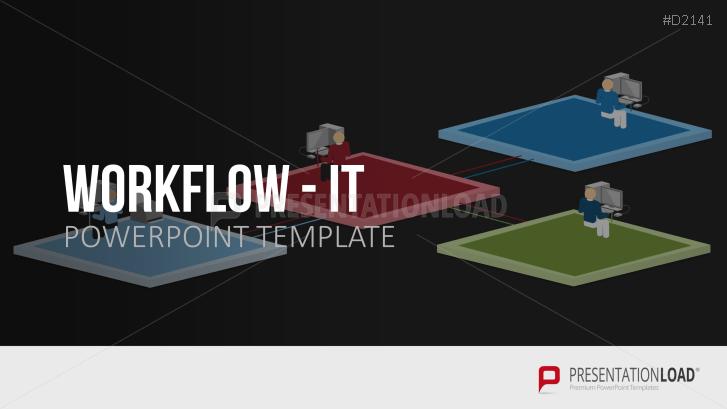 Information technology workflow powerpoint template workflow it toneelgroepblik Gallery