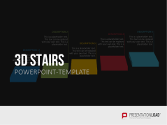 3D Stairs _https://www.presentationload.com/3d-stairs.html