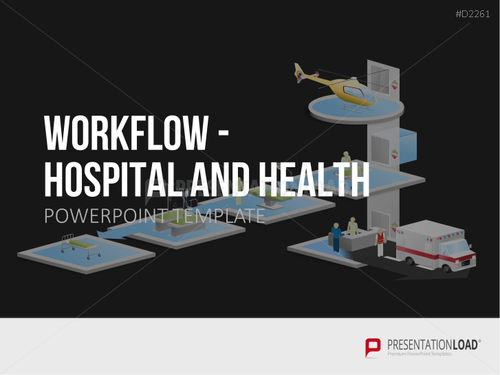 Workflow - Hospital / Health _https://www.presentationload.com/work-flow-clinic-set.html