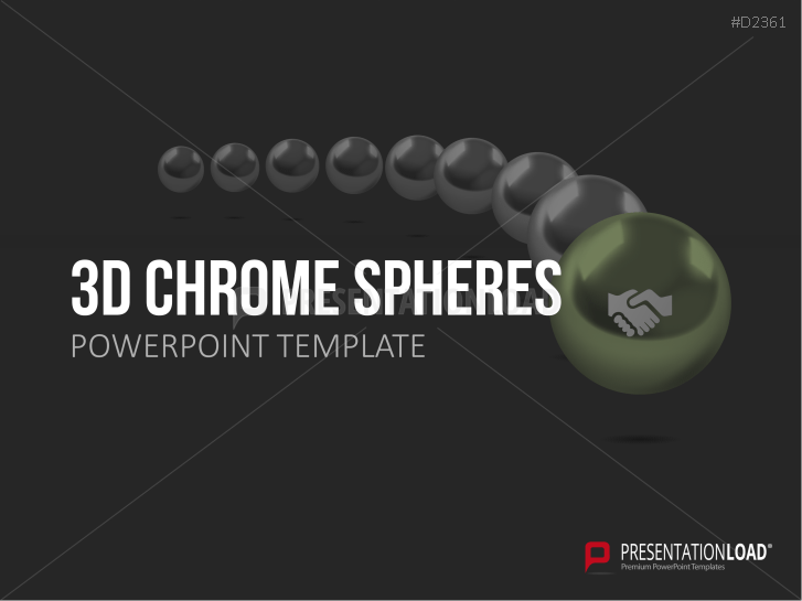 3D Chrome Spheres