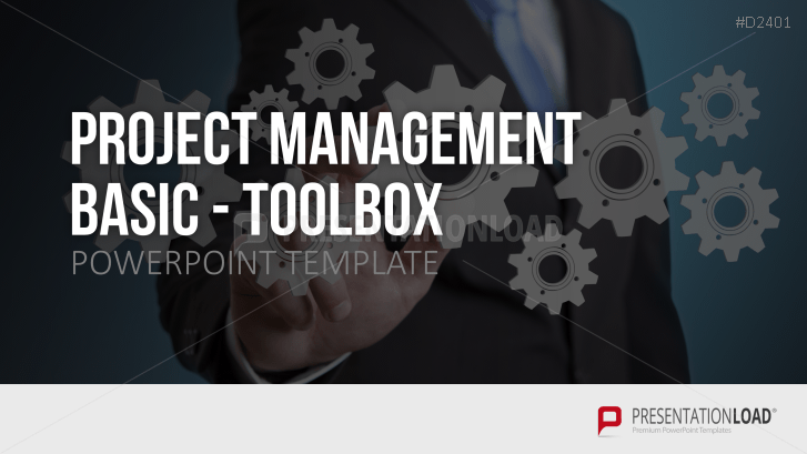 basic project management powerpoint template, Powerpoint templates