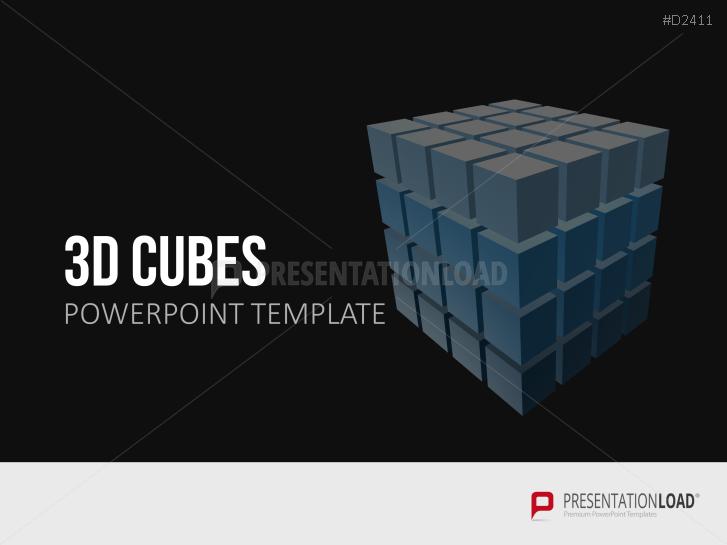 Cubos tridimensionales  _https://www.presentationload.es/3d-cubos-1-1.html