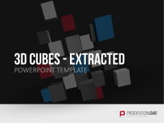 3D Cubes Extraction _http://www.presentationload.com/3d-cubes-extraction.html