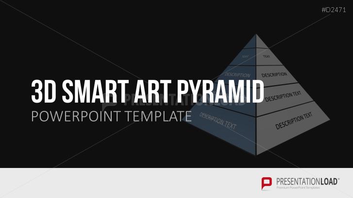 3D SmartArt Pyramids
