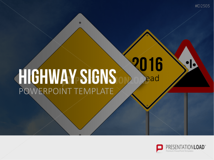 Señales de autopista _https://www.presentationload.es/highway-signs-1.html