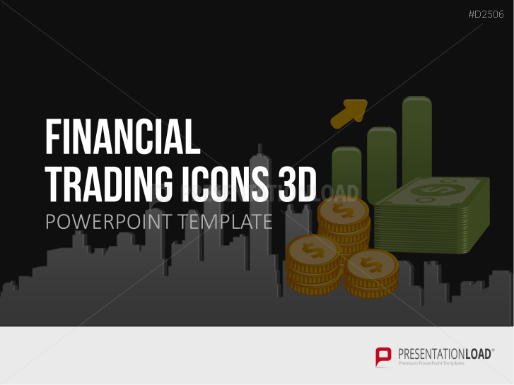 Financial Trading Icons 3D _https://www.presentationload.de/financial-trading-icons.html