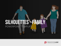 Silhouettes - Family _https://www.presentationload.com/outlines-family.html