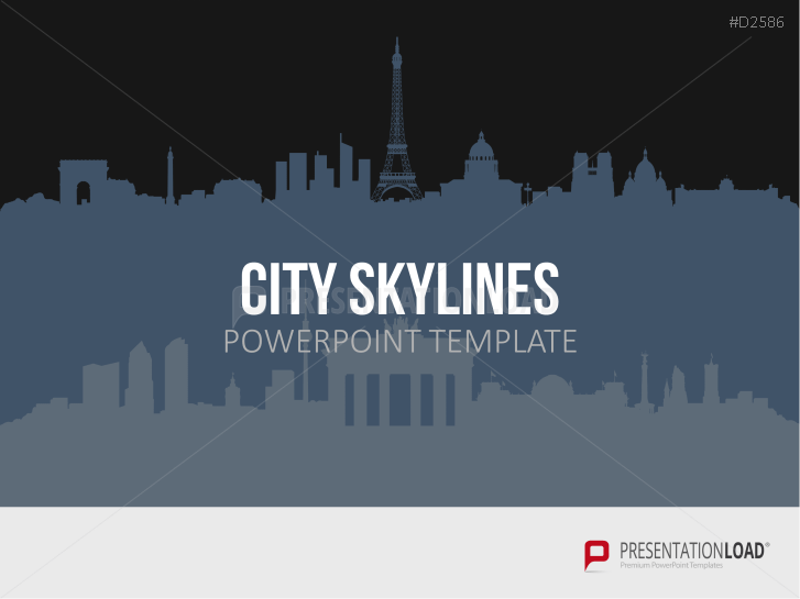 Cityscapes / Skylines for PowerPoint (Vector Graphics) _http://www.presentationload.com/cityscapes-skylines-vector-graphics.html