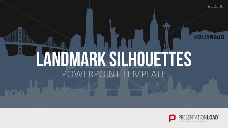 International Landmark Templates for PowerPoint