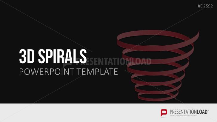 spirals powerpoint template