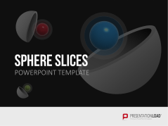 3D Spheres - Slices _http://www.presentationload.com/3d-spheres-divided.html