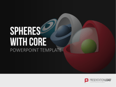 3D Spheres - with core _https://www.presentationload.com/3d-spheres-core.html