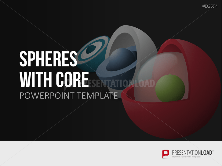 3D Spheres - with core _http://www.presentationload.com/3d-spheres-core.html
