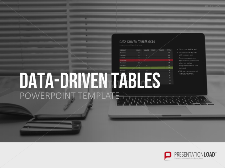 Tablas PowerPoint con base de datos _https://www.presentationload.es/datadriven-powerpoint-sheets-1.html