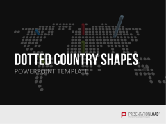 Dotted Country Shapes _http://www.presentationload.com/dotted-maps.html