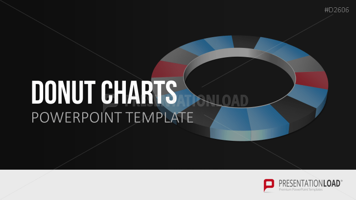donut charts powerpoint template