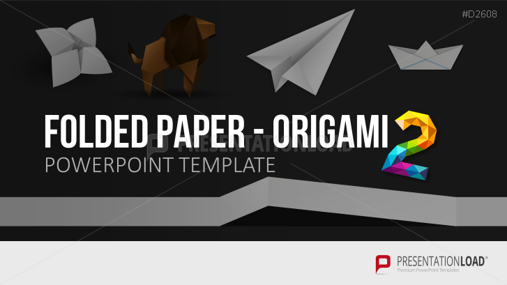 Folded Paper - Origami 2