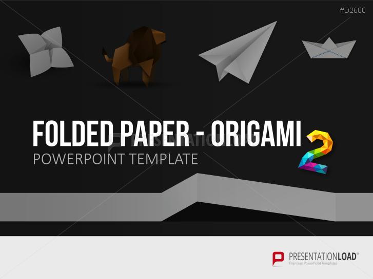 Folded Paper - Origami 2 _https://www.presentationload.com/folded-paper-origami-2-1.html
