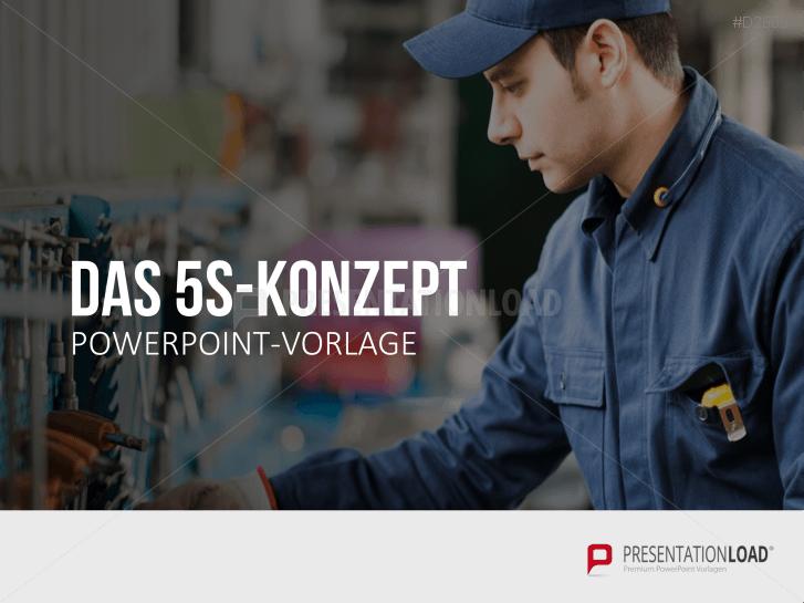 5S-Konzept _https://www.presentationload.de/5s-konzept-powerpoint-vorlage.html