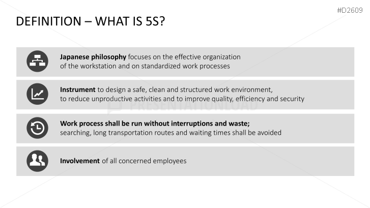 5S Concept PowerPoint Template