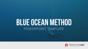 Blue ocean strategy powerpoint template blue ocean method pronofoot35fo Choice Image
