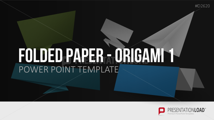 Folded Paper - Origami 1