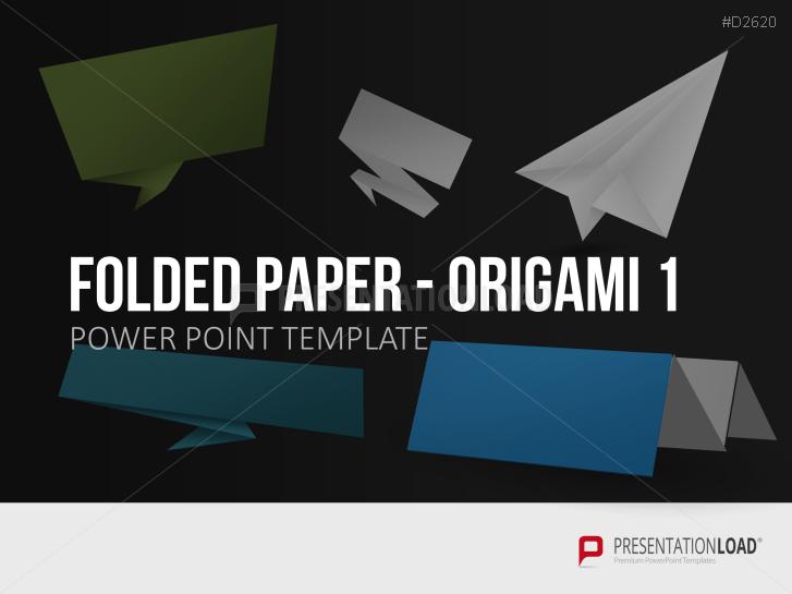 Folded Paper - Origami 1 _https://www.presentationload.com/folded-paper-origami.html
