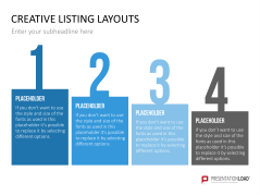 Creative Lists 1 _https://www.presentationload.de/creative-listing-layouts.html
