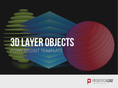 3D Layer Objekte _https://www.presentationload.de/layer-objekte-3d.html