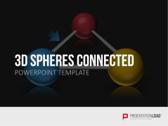 3D Spheres - connected _http://www.presentationload.com/3d-spheres-connected.html