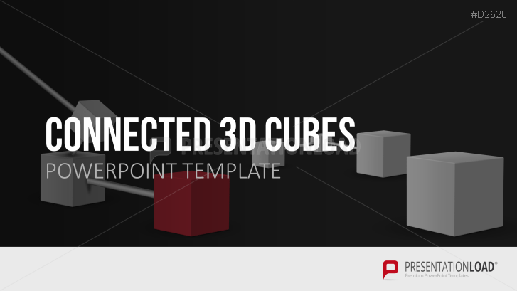 Connected 3D Cubes