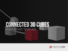 Cubos integrados tridimensionales  _https://www.presentationload.es/connected-3d-cubes.html