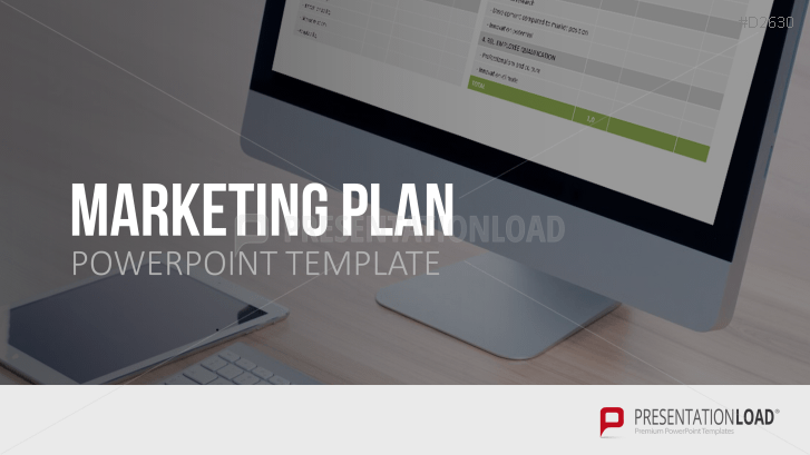 marketing plan powerpoint template, Modern powerpoint