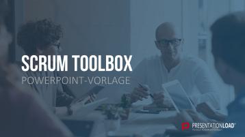 Scrum-Toolbox _https://www.presentationload.de/scrum-toolbox-powerpoint-vorlage.html