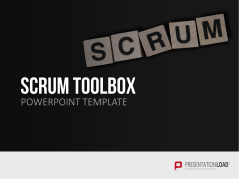 Scrum - Toolbox _https://www.presentationload.com/scrum-toolbox-powerpoint-template.html