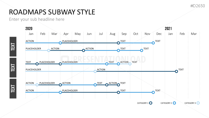 Subway Map In Powerpoint.Presentationload Roadmaps Subway Style