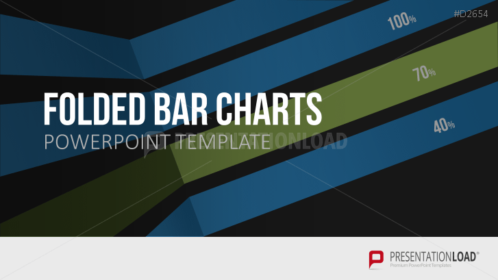 Folded bar and column charts