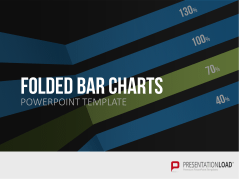 Folded bar and column charts _https://www.presentationload.com/folded-bar-column-charts.html