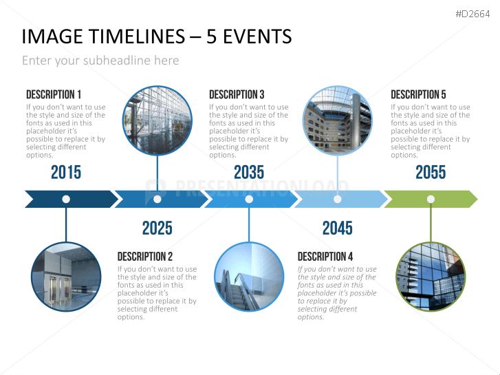 powerpoint timeline  u0026 gantt chart template