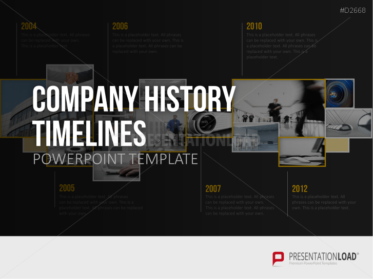 Company History Timelines _https://www.presentationload.com/company-history-timelines-ppt-templates.html