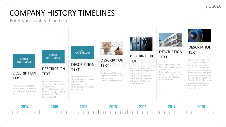 powerpoint timeline graphic