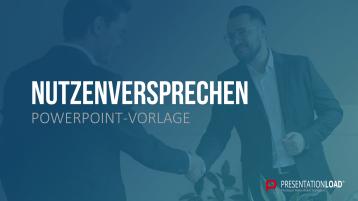 Nutzenversprechen (Value Proposition) _https://www.presentationload.de/nutzenversprechen-ppt-vorlage.html