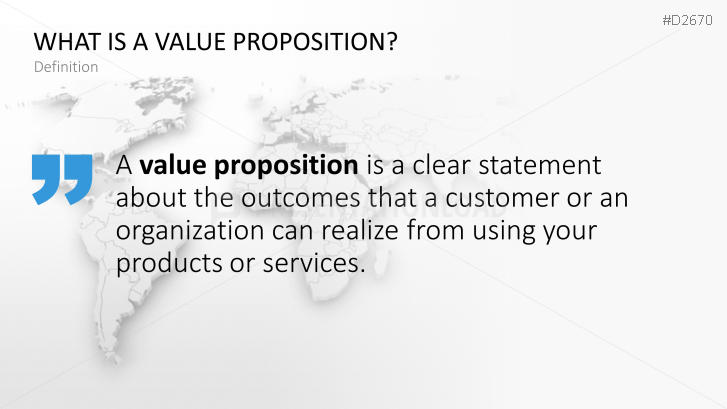 Value proposition powerpoint template toneelgroepblik Gallery