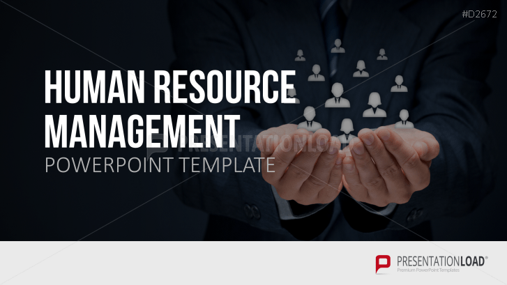 human resource management (hrm) powerpoint template, Powerpoint templates