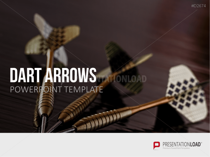 Dart, Arrows and Targets _http://www.presentationload.com/darts-arrows-targets.html